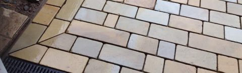 Indian Stone Patios in Royston, Yorkshire
