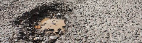 Pothole Repairs in Strensall